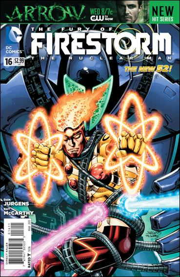 Fury of Firestorm: The Nuclear Man 16-A by DC