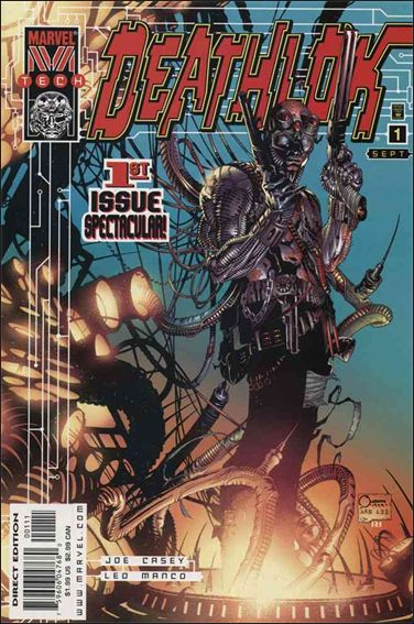 Deathlok (1999) 1-A by Marvel