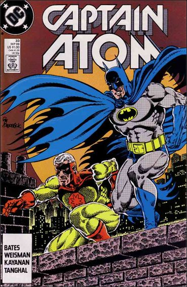 Captain Atom (1987) 33-A by DC