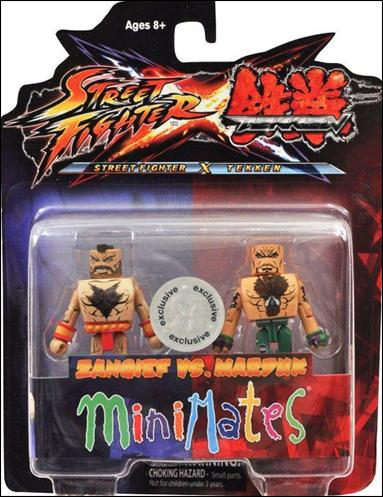 Street Fighter X Tekken Minimates (Exclusives) Zangief vs Marduk by Diamond Select