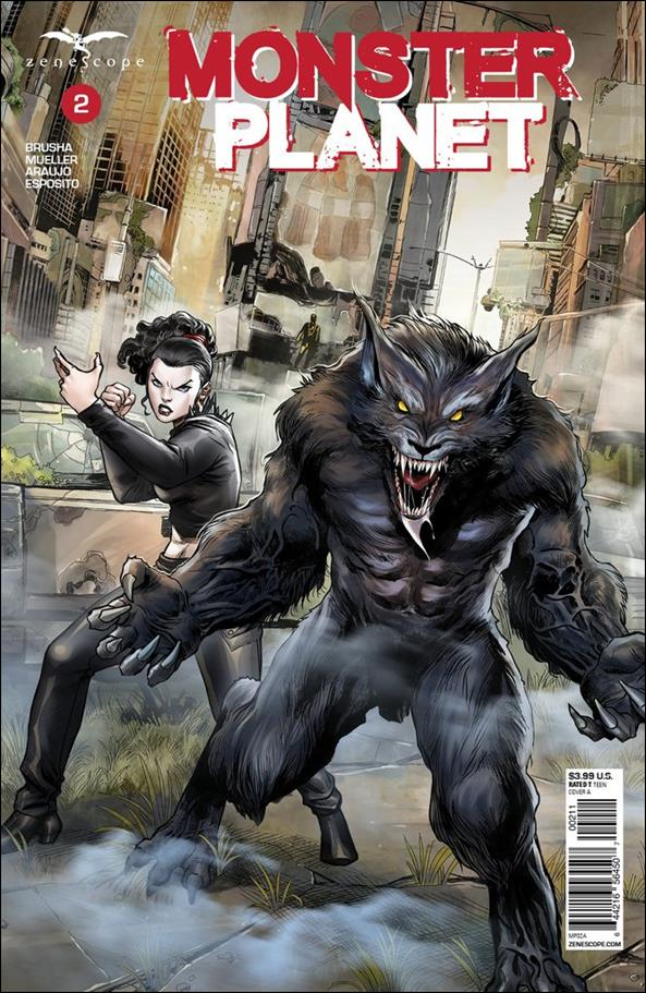 Monster Planet 2-A by Zenescope Entertainment