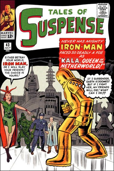 Tales of Suspense (1959) 43-A by Marvel