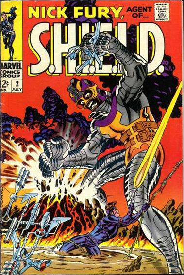 Nick Fury, Agent of S.H.I.E.L.D. (1968) 2-A by Marvel
