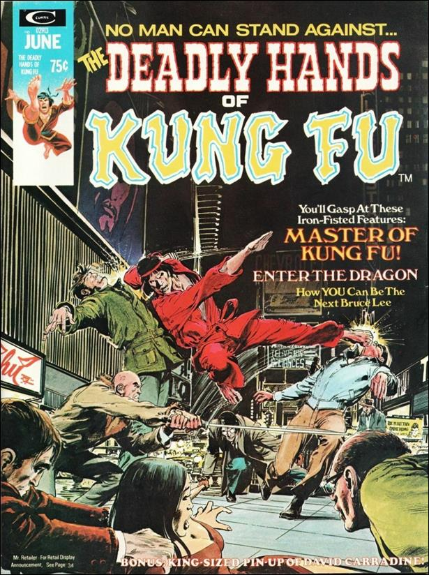 Deadly Hands of Kung Fu 2-A by Marvel