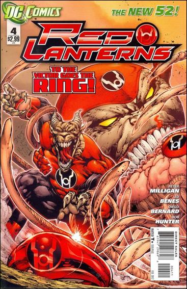 Red Lanterns 4-A by DC