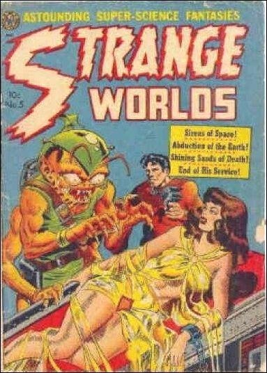 Strange Worlds (1950) 5-A by Avon