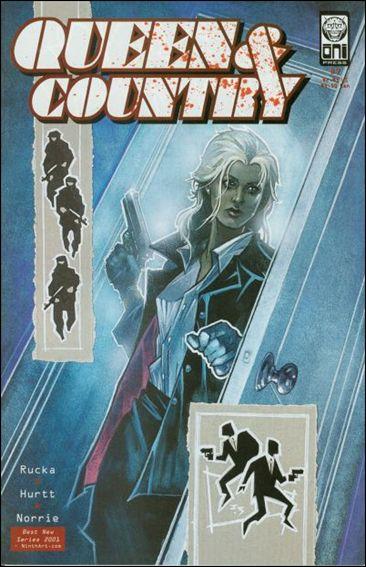 Queen & Country 7-A by Oni Press