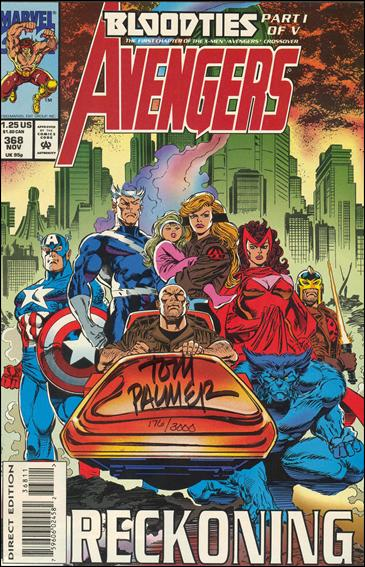 Avengers (1963) 368-B by Marvel
