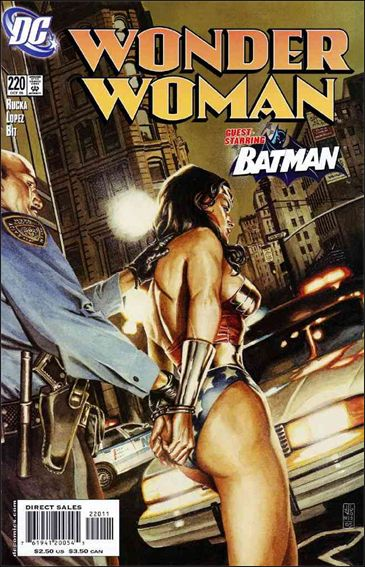 Wonder Woman (1987) 220-A by DC