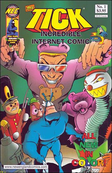 Tick Incredible Internet Comic 1-A by New England Comics Press (NEC / NECP)