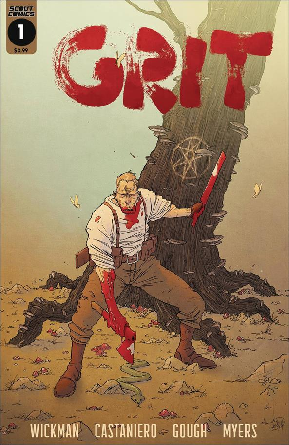 Grit 1-A by Scout Comics