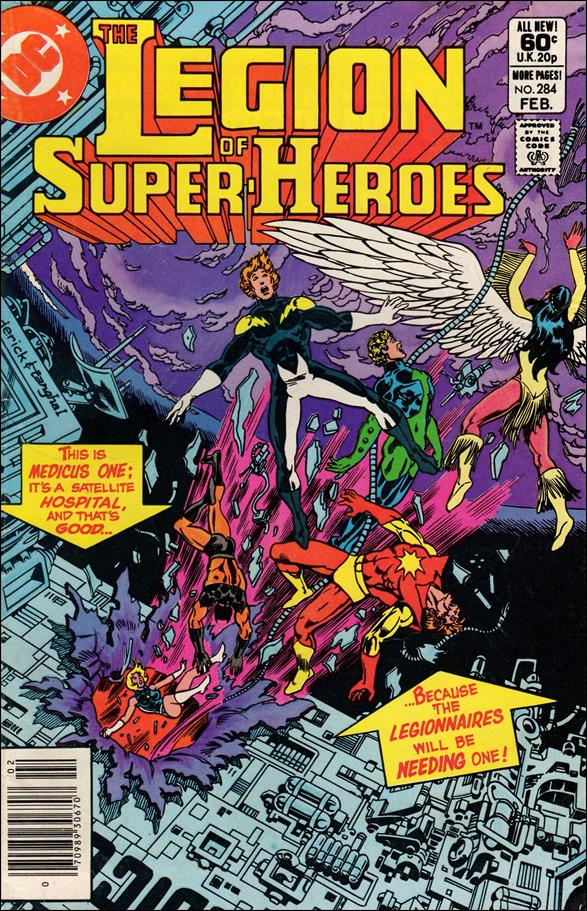 Legion of Super-Heroes (1980) 284-A by DC