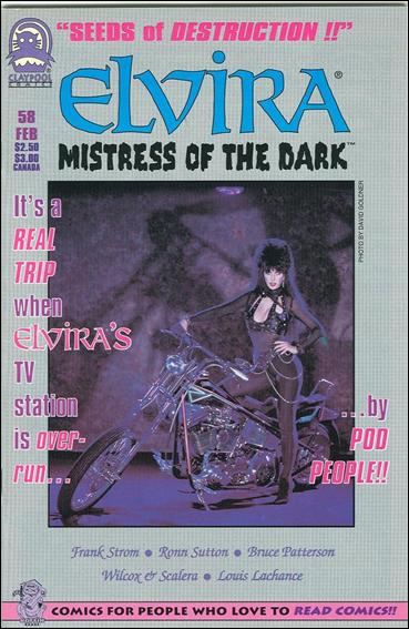 Elvira, Mistress of the Dark (1993) 58-A by Claypool