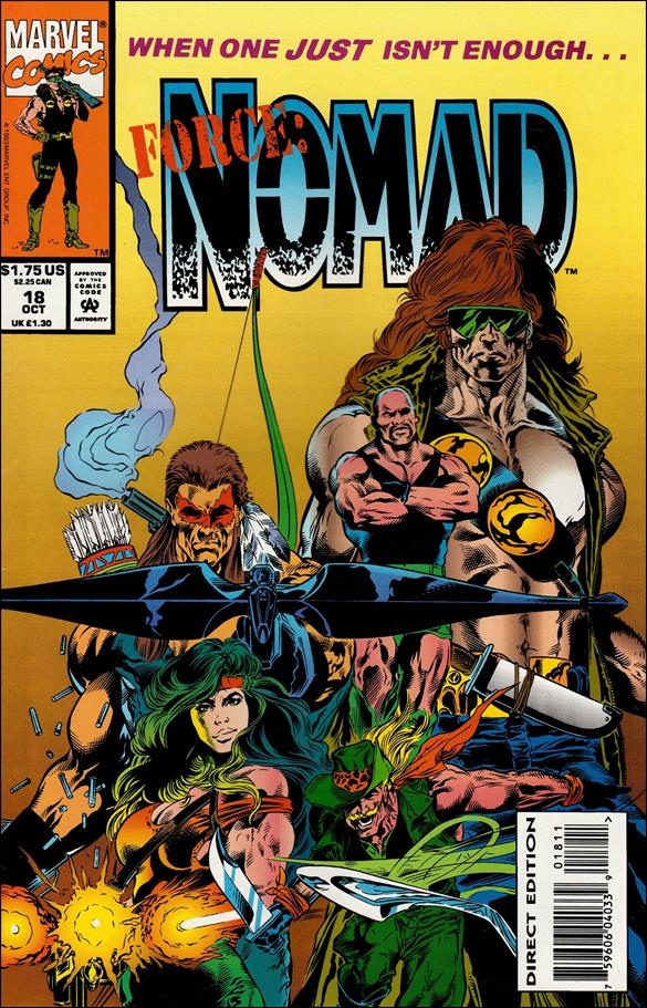 Nomad (1992) 18-A by Marvel