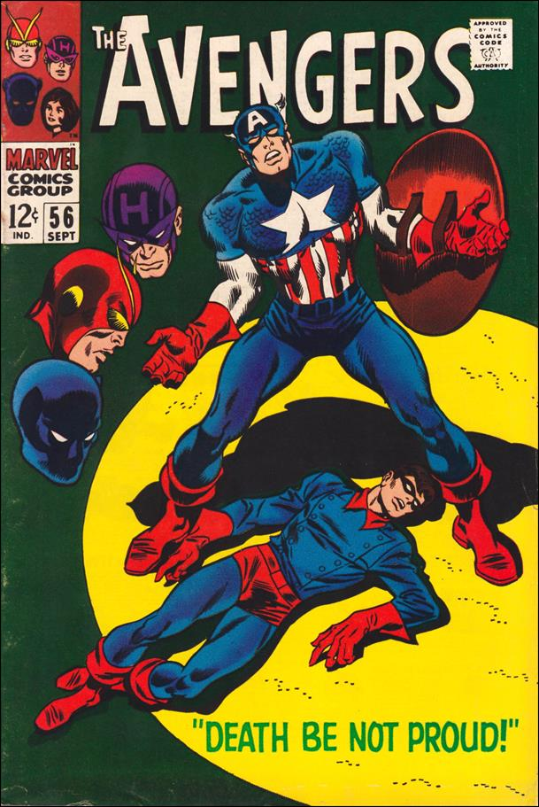 Avengers (1963) 56-A by Marvel