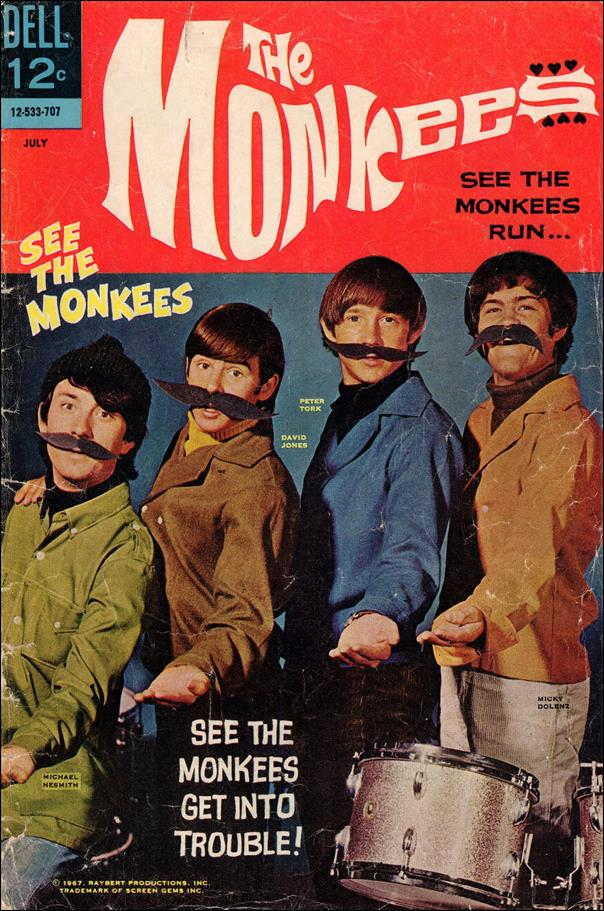 Monkees 3-A by Dell