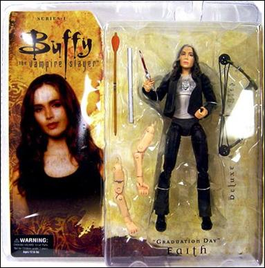 "Buffy the Vampire Slayer Deluxe (Series 1) ""Graduation Day"" Faith by Gentle Giant"