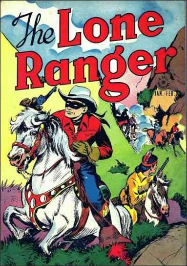 Lone Ranger (1948) 1-A by Dell