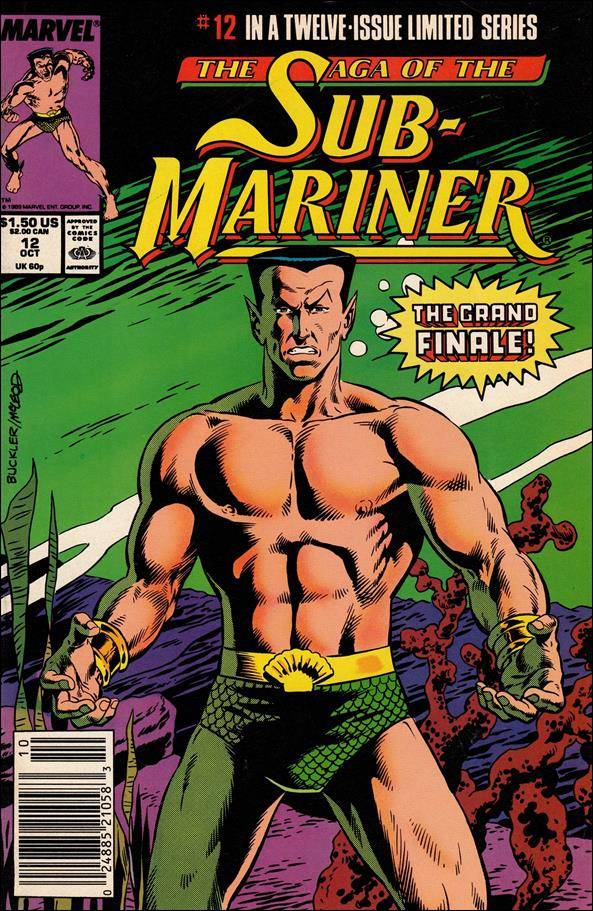 Saga of the Sub-Mariner 12-A by Marvel