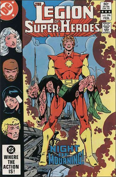 Legion of Super-Heroes (1980) 296-A by DC