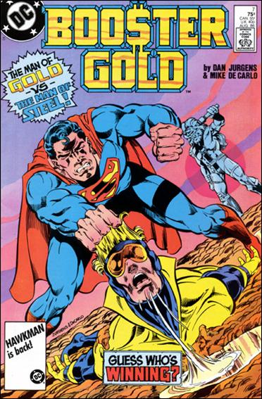 Booster Gold (1986) 7-A by DC