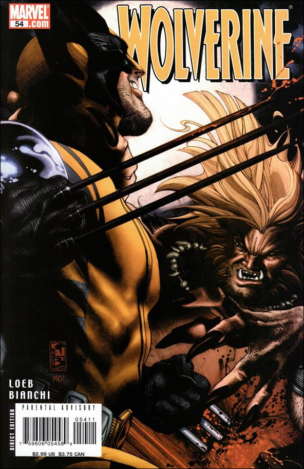Wolverine (2003)  54-A by Marvel