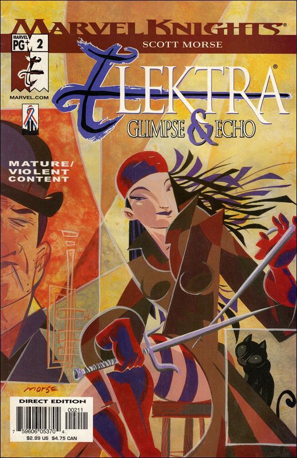 Elektra: Glimpse & Echo 2-A by Marvel