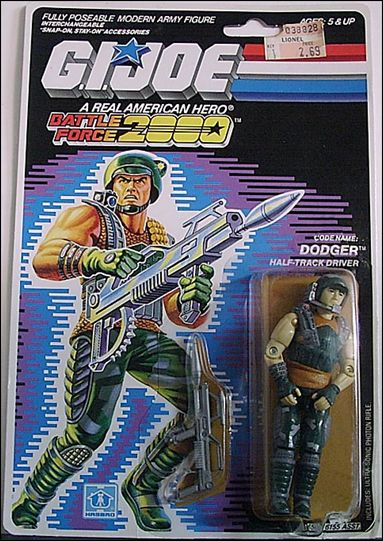 G.I. Joe: A Real American Hero (Battle Force 2000)  Dodger (Marauder Half-Tank Driver) by Hasbro
