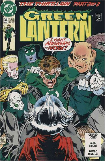 Green Lantern (1990) 34-A by DC