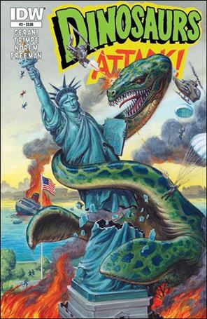 Dinosaurs Attack! (2013) 3-A