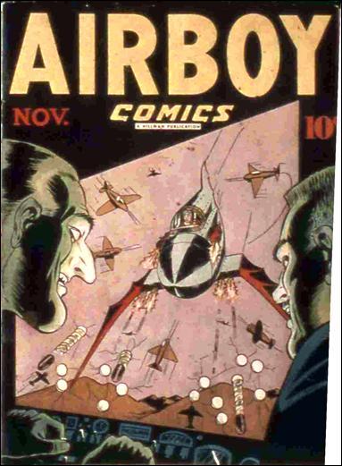 Airboy Comics (1946) 10-A by Hillman
