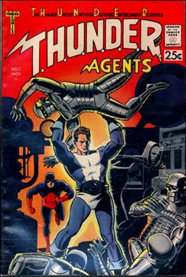 T.H.U.N.D.E.R. Agents (1966) 1-A by Tower