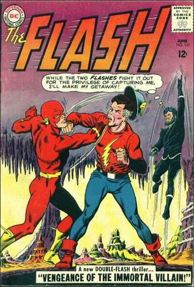Flash (1959) 137-A by DC