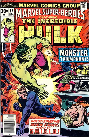 Marvel Super-Heroes (1967) 62-A by Marvel