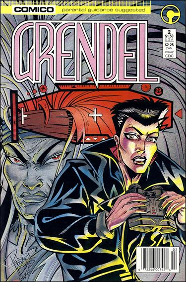 Grendel (1986) 2-A by Comico