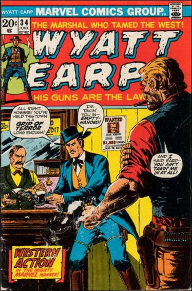 Wyatt Earp (1955) 34-A by Marvel