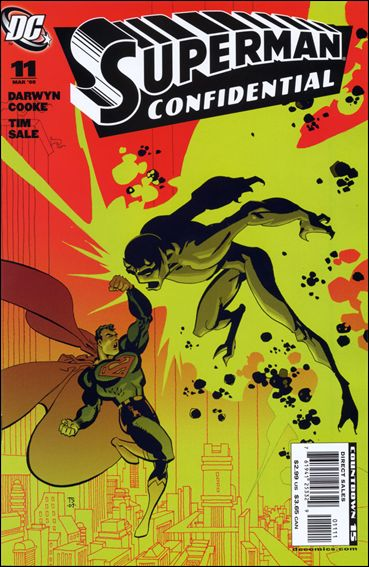 Superman Confidential 11-A by DC