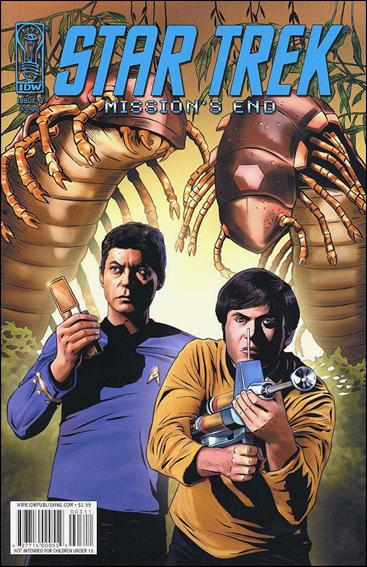 Star Trek: Mission's End 3-A by IDW