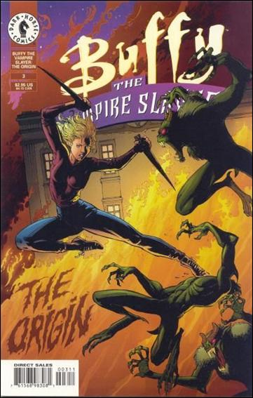 Buffy the Vampire Slayer: The Origin 3-A by Dark Horse