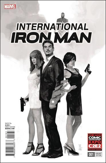 International Iron Man 1-F by Marvel