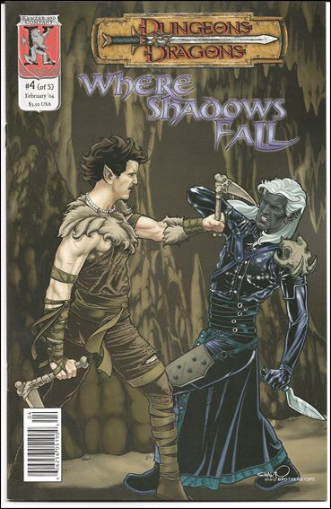 Dungeons and Dragons: Where Shadows Fall 4-A by Kenzer and Company
