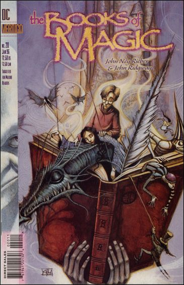 Books of Magic (1994) 20-A by Vertigo