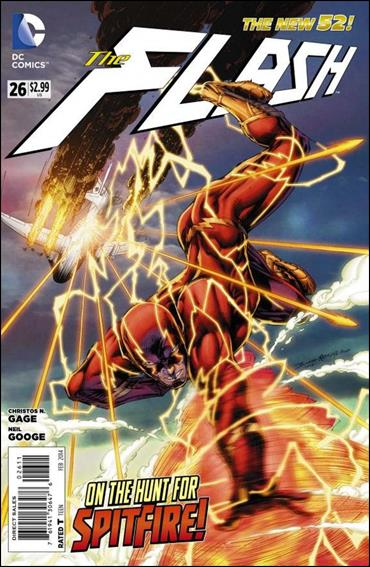 Flash (2011) 26-A by DC