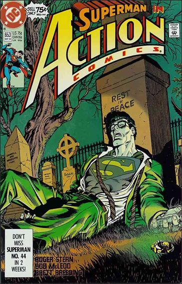 Action Comics (1938) 653-A by DC