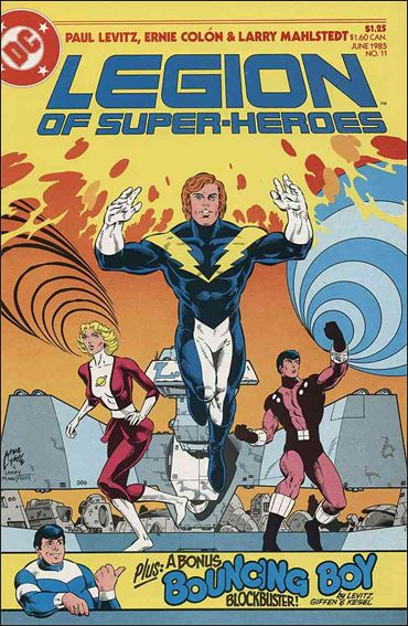 Legion of Super-Heroes (1984) 11-A by DC