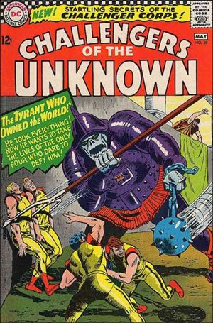 Challengers of the Unknown (1958) 49-A