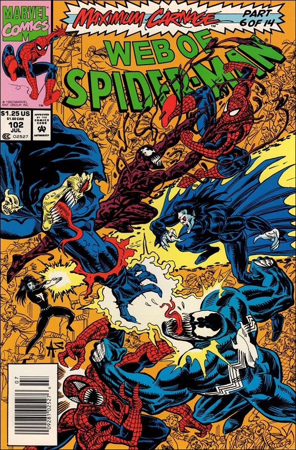 Web of Spider-Man (1985) 102-A by Marvel