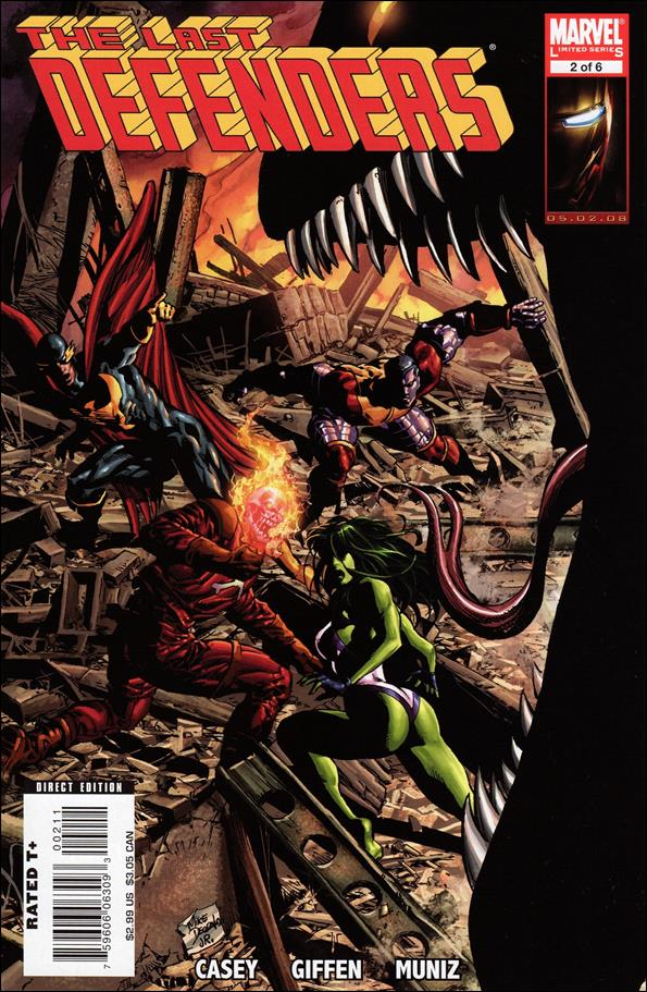 Last Defenders 2-A by Marvel