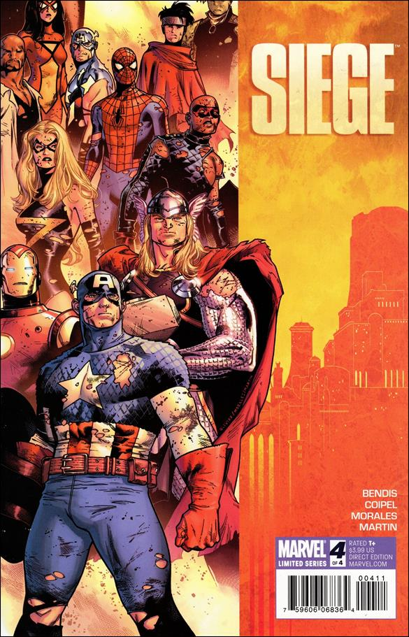 Siege (2010) 4-A by Marvel