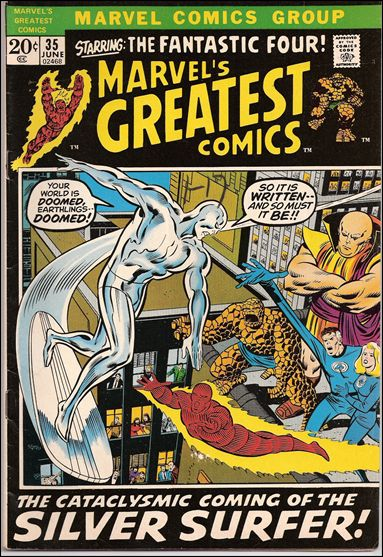 Marvel's Greatest Comics 35-A by Marvel
